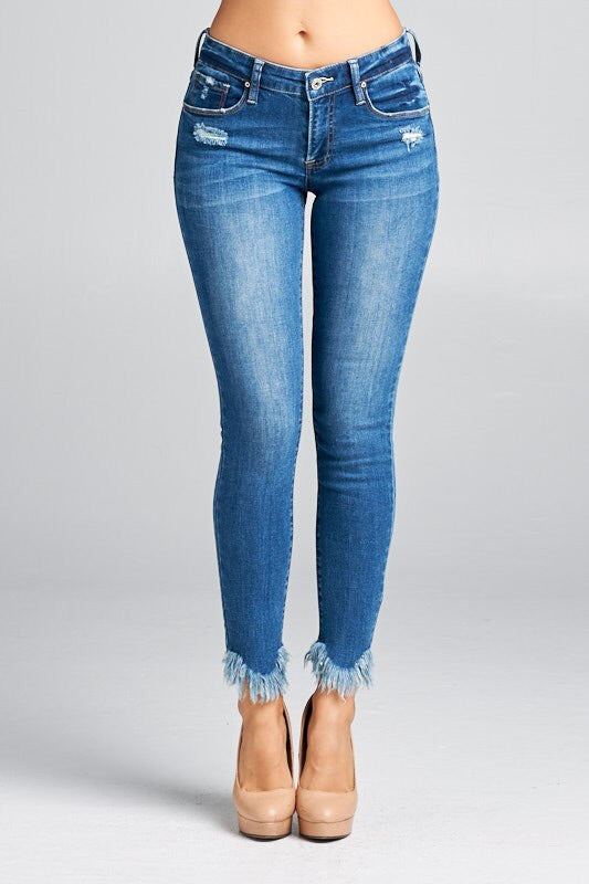 Amber Ankle Skinnies - Bates Boutique