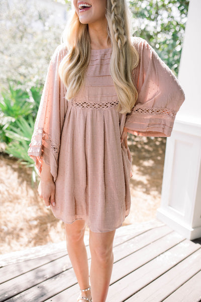 Shallow End Dress - Blush