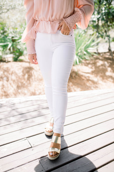Whitley White Skinny Jeans