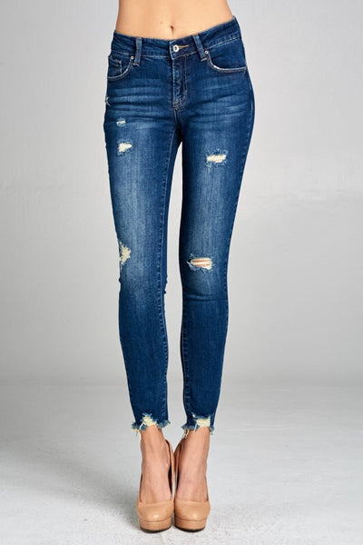 Dolly Dark Skinny Jeans - Bates Boutique