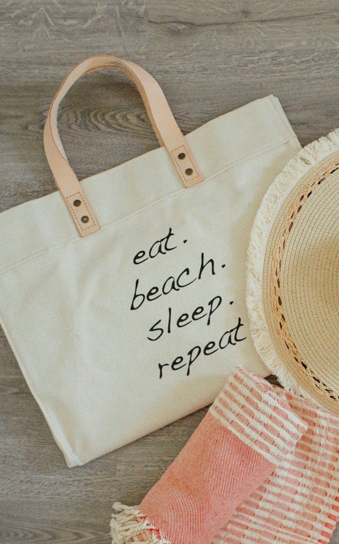 Eat Beach Sleep Tote