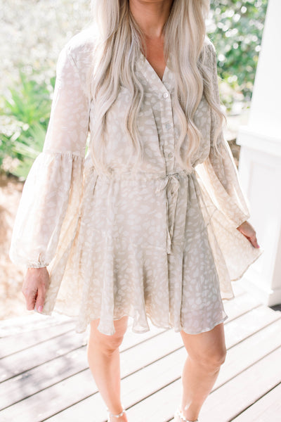 High Tides Dress - Taupe