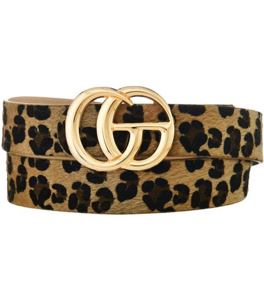 Chic Cheetah Belt