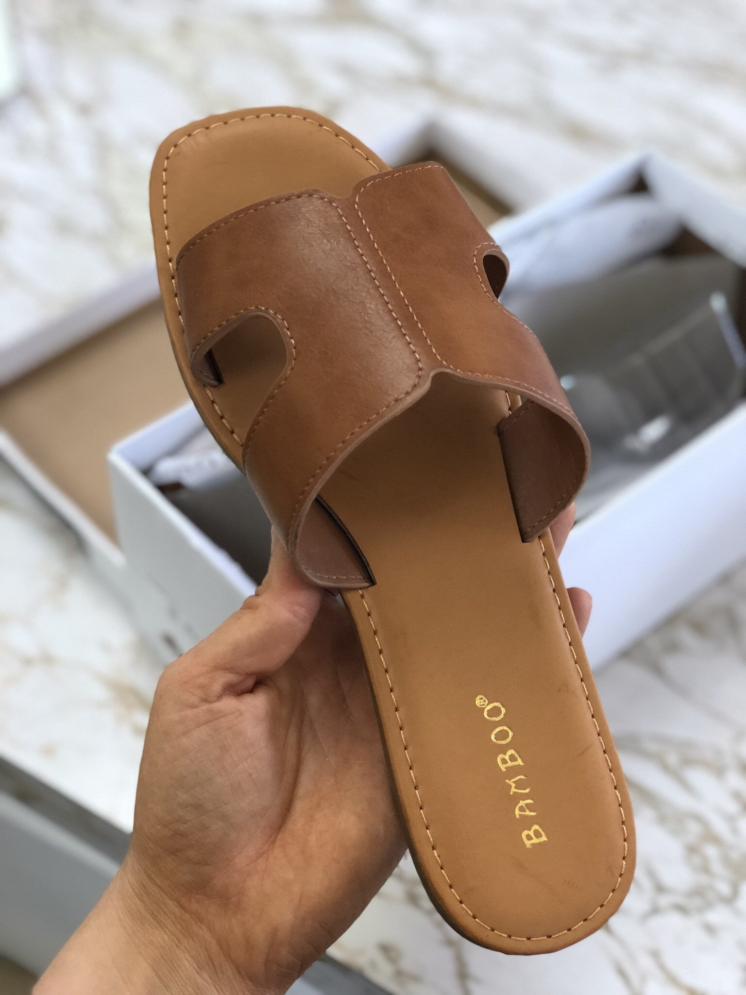 Simplicity Sandal - Brown
