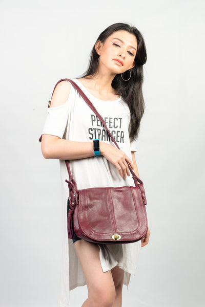 Lexi Genuine Leather Crossbody Bag