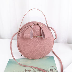 2019 Fashion Women Handbag Messenger Bags PU Leather Shoulder Bag Lady Crossbody Mini Bag With Small Fresh Cute Diagonal Bag