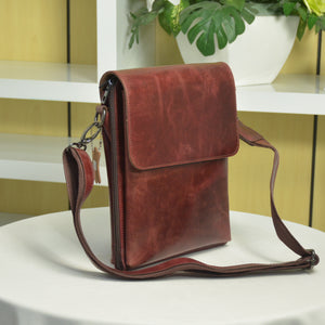 Zetira Dallas Genuine Leather Satchel Bag