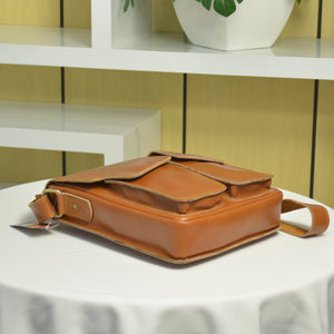 Zetira Remington Genuine Leather Satchel Bag