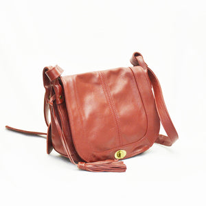 Zetira Lexi Genuine Leather Crossbody Bag