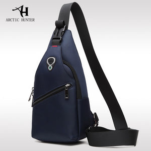 New Male Chest Bag Fashion Leisure Waterproof Man Oxford Cloth Korea Style Messenger Shoulder Bag For Teenager Bag