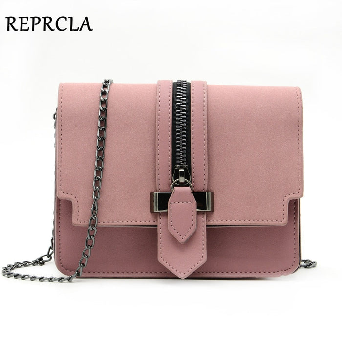 Fashion Matte PU Leather Women Bags High Quality Handbags Designer Shoulder Bag Small Chain Crossbody Messenger Bags
