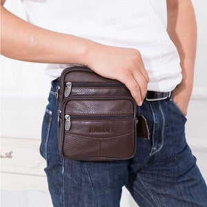 Vintage Leather Bags for Man Genuine Leather Crossbody Bag Men Casual Single Shoulder Bag Male Small Men's Messenger Bags