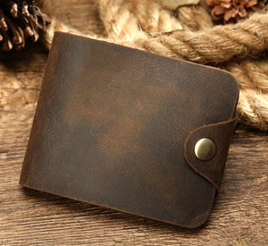 Men's Wallet Leather Vintage - You Deserve To Have