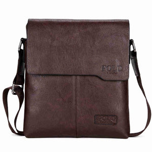 POLO Men Shoulder Bag Classic Vintage Style Casual Crossbody