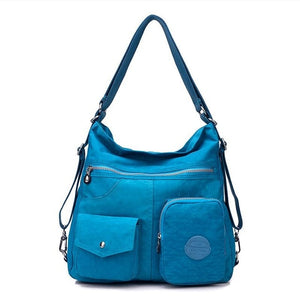 New Waterproof Women Bag Double Shoulder Bag Designer Handbags High Quality Nylon Female Handbag