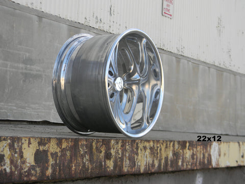 22x12 Viper full polished