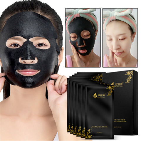 Black Charcoal Mask Whitening Mascara Facial Masks