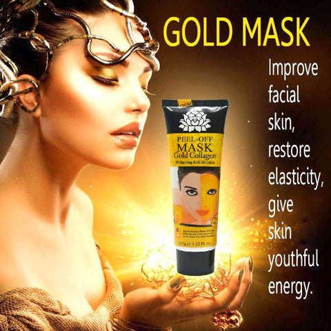 120ml 24K golden Anti wrinkle anti aging facial mask