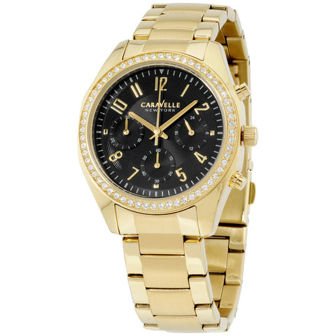 Caravelle Gold Watch 44L116