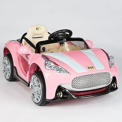 12V Remote Control Pink Cars