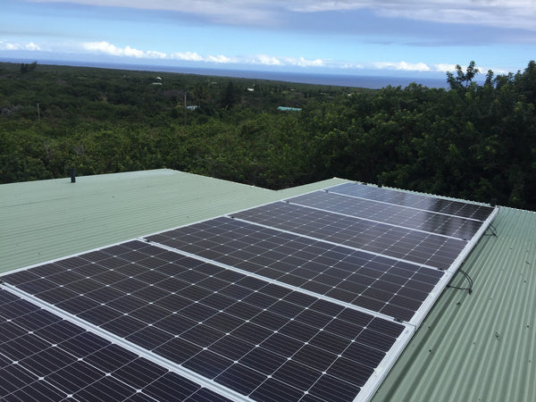 8 panel 2.4 KW Solar Power Kit
