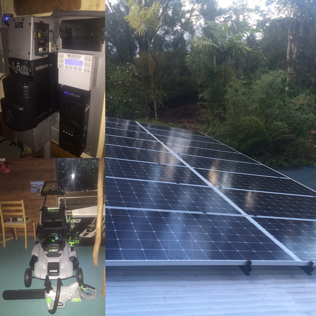 16 panel 4.8 KW Solar Power Kit