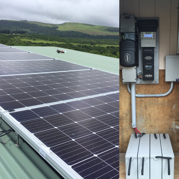 6 panel 1.8 KW Solar Power Kit