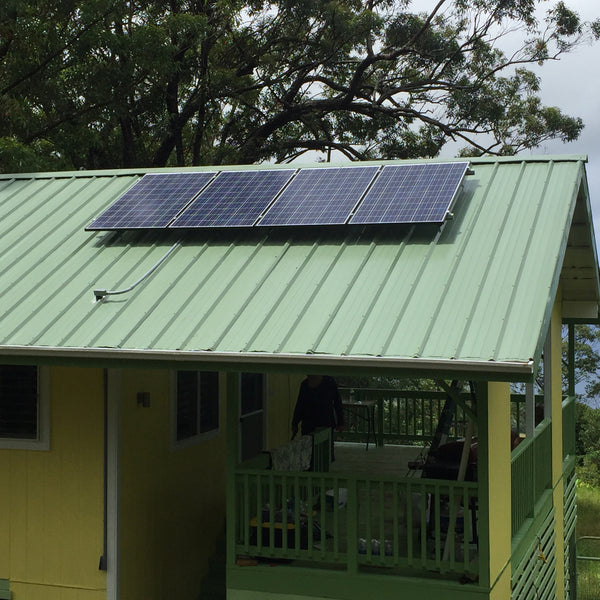 4 panel 1.2 KW Solar Power Kit