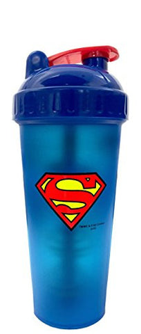 Perfect Shaker Hero Series Superman Shaker Cup, 28 oz (800ml)