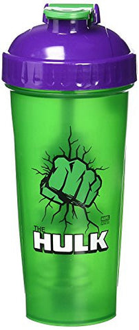 PerfectShaker Hero Series Shaker Cup, Hulk, 28 Ounce