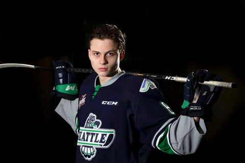 Tyrel Bauer WHL Seattle Thunderbirds