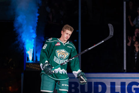 Gianni Fairbrother WHL Everett Silvertips