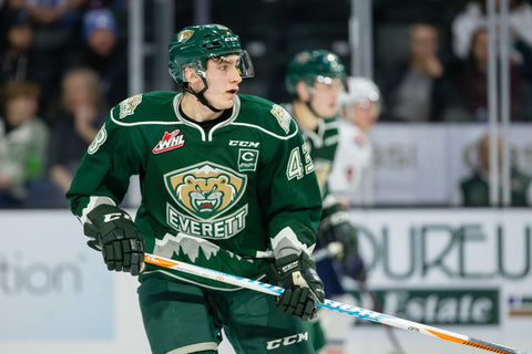 Connor Dewar WHL Everett Silvertips