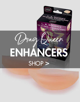 Breast Enhancers and Drag Queen Inserts for Men's Cross Dressing