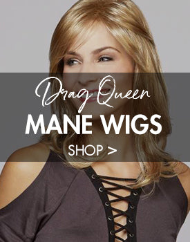 High quality natural Wigs for Drag Queens, Cross Dressers, and Female Impersonators