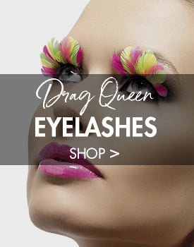 Fake Eyelashes for Drag Queen and Female Impersonators