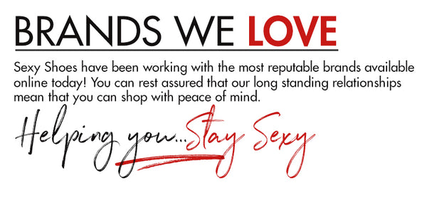 Brands We Love at SexyShoes.com