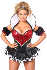 Top Drawer Plus Size Royal Queen Premium Corset Costume
