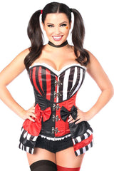 Top Drawer 3 PC Jokester Villian Corset Costume
