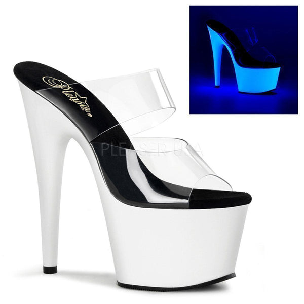 ADORE-702UV Platform Slide  | Clear Vinyl