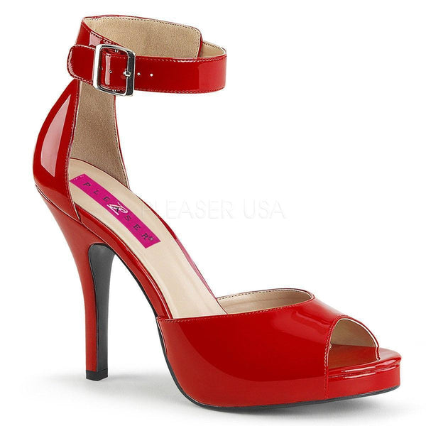 EVE-02 Sandal | Red Patent