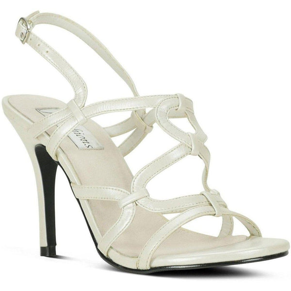 Luster Finish Sandal-White