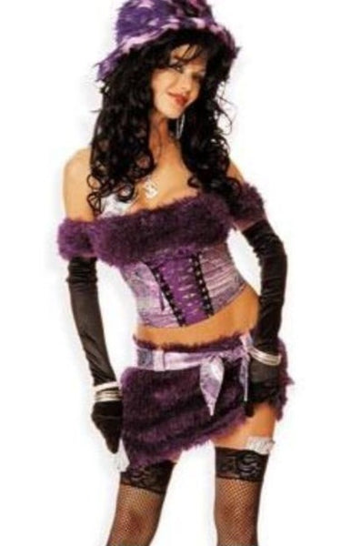 PIMPETTE COSTUME | Purple
