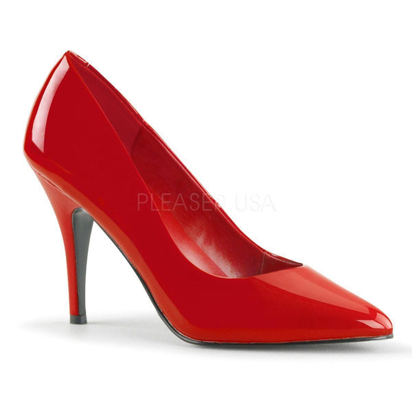 VANITY-420 Pump  | Red Patent