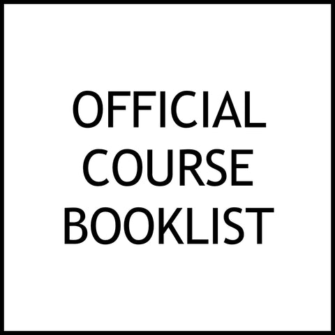 Official Course Booklist