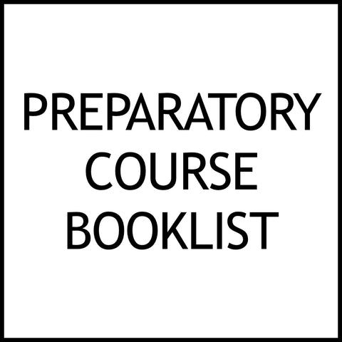 Prep Course Booklist