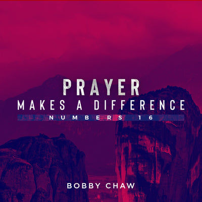 20181125 Numbers 16: Prayer Makes A Difference, MP3, English