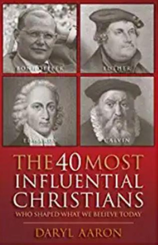 40 Most Influential Christians Who Shaped What We Believe Today, Paperback