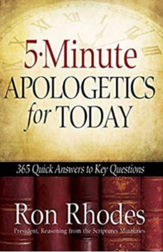 5-Minute Apologetics for Today, Paperback