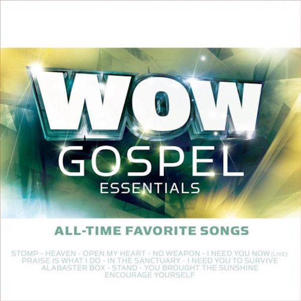 Wow Gospel Essentials, Various Artists, 1CD, English